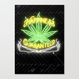 Happiness Guaranteed Canvas Print