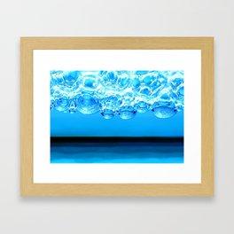 BlueBubbles Framed Art Print