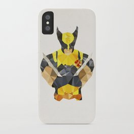 Polygon Heroes - Wolverine iPhone Case