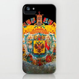 Russian Empire Flag iPhone Case