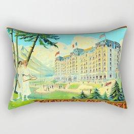 Chamonix-Mont-Blanc - Cachat's Majestic Rectangular Pillow