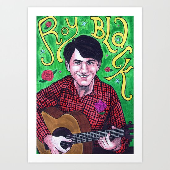 Das Ist Roy Black Art Print