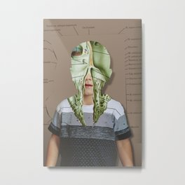 Another Portrait Disaster · Anton A Metal Print