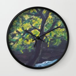Planted by Living Waters AC181121a Wall Clock