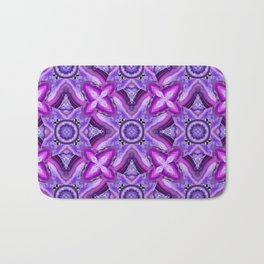 JCrafthouse Agate of Wonder in Royal Purple Bath Mat