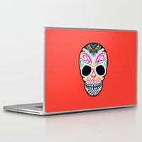 mexican Laptop & iPad Skins featuring Mexican Skull by Blank & Vøid