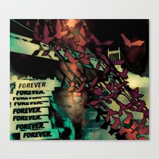 Forever East Canvas Print