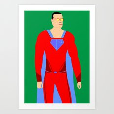 Superman (XII) Art Print