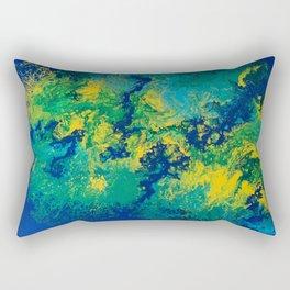 Fluid Landscape Rectangular Pillow