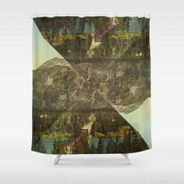 Uncle Mountain Shower Curtain