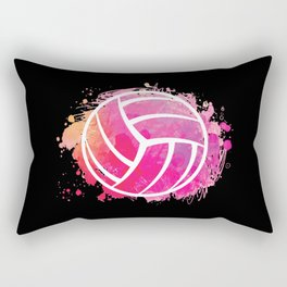 Volleyball Girl Volleyball Lover Gift Idea Rectangular Pillow