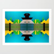 Digital PlayGround #2 Art Print