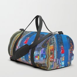 Times Square (Broadway) Duffle Bag