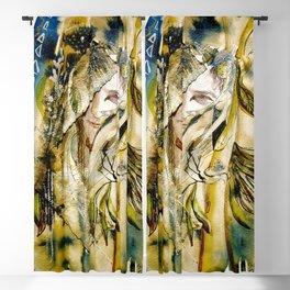 Golden Collar Blackout Curtain