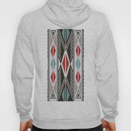 American Native Pattern No. 199 Hoody