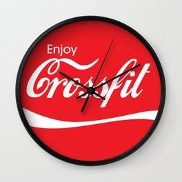 Enjoy Crossfit Wall Clock