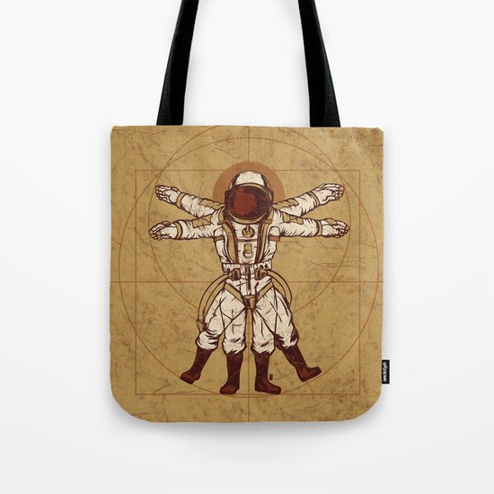Anatomy Of Exploration Tote Bag