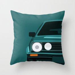 Classic 90s Car Throw Pillow