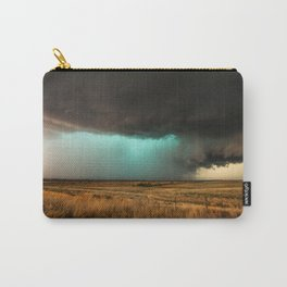 Jewel of the Plains - Storm in Texas Carry-All Pouch