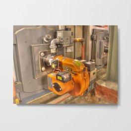 Air Blower Metal Print