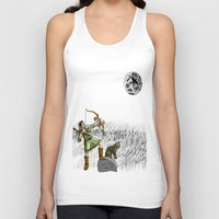 archer Tank Tops featuring Archer the archer by YassirM