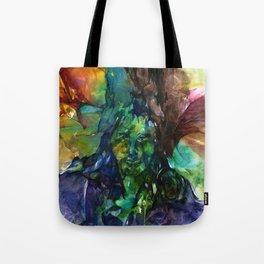 Green Man by Kathy Morton Stanion Tote Bag