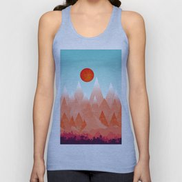 Nature on Fire Unisex Tank Top