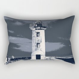 like a lighthouse Rectangular Pillow