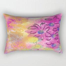 Pink Daydream Rectangular Pillow