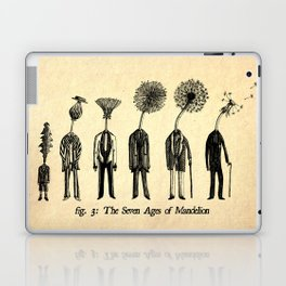 The Seven Ages of Mandelion Laptop & iPad Skin