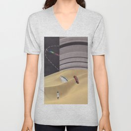 Crash Unisex V-Neck