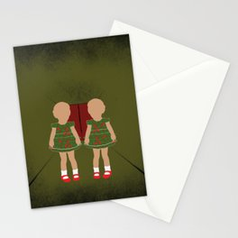 Twin Kids Stationery Cards