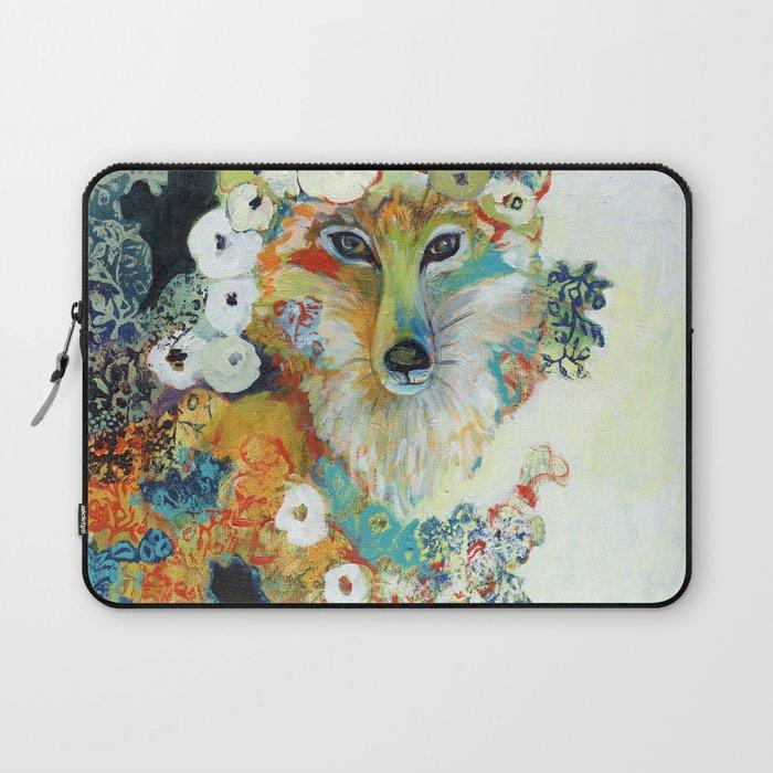 Fox in Pearls Laptop Sleeve