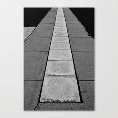 Timeline Canvas Print