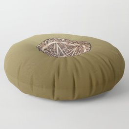 Brigid's Pentacle Floor Pillow