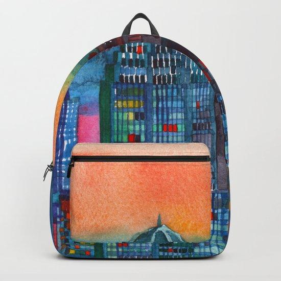 New York buildings vol3 Backpack
