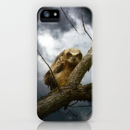 The seer of souls iPhone Case