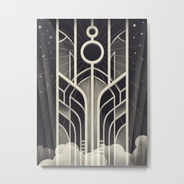 DECO STARGATE Metal Print