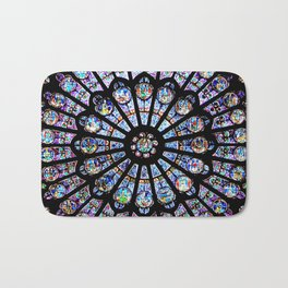 Cathedral Stained Glass Bath Mat