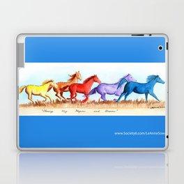 Chasing My Hopes and Dreams Laptop & iPad Skin