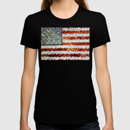 American Flag Abstract T-shirt