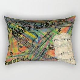 Crazy Train Rectangular Pillow