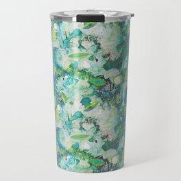 Abstract Blues Travel Mug