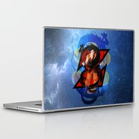 goku Laptop & iPad Skins featuring DBZ - Goku by Mr. Stonebanks