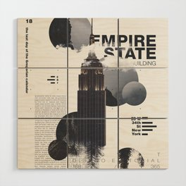 Empire State Wood Wall Art