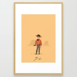 John Wayne - The Searchers Framed Art Print