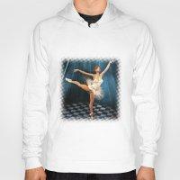 ballerina Hoodies featuring ballerina by Ancello