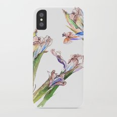 Dying Iris Slim Case iPhone X