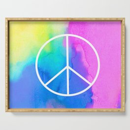 Peace Serving Tray