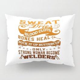 Welder Woman Pillow Sham